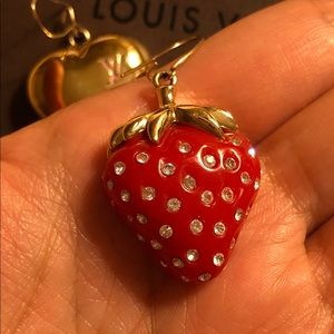 Louis Vuitton Jewelry - Authentic Louis Vuitton Strawberry 🍓💛 Earrings